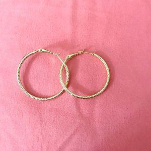 Jewelry - Bangkok 14k gold filled hoop earrings